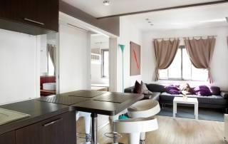 Casa mobile Deluxe - soggiorno