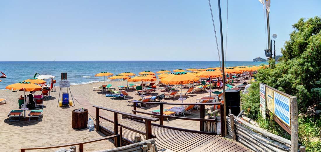 Spiaggia delle Rocchette – Camping Village Santapomata