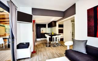 Case mobili Deluxe Santapomata - soggiorno