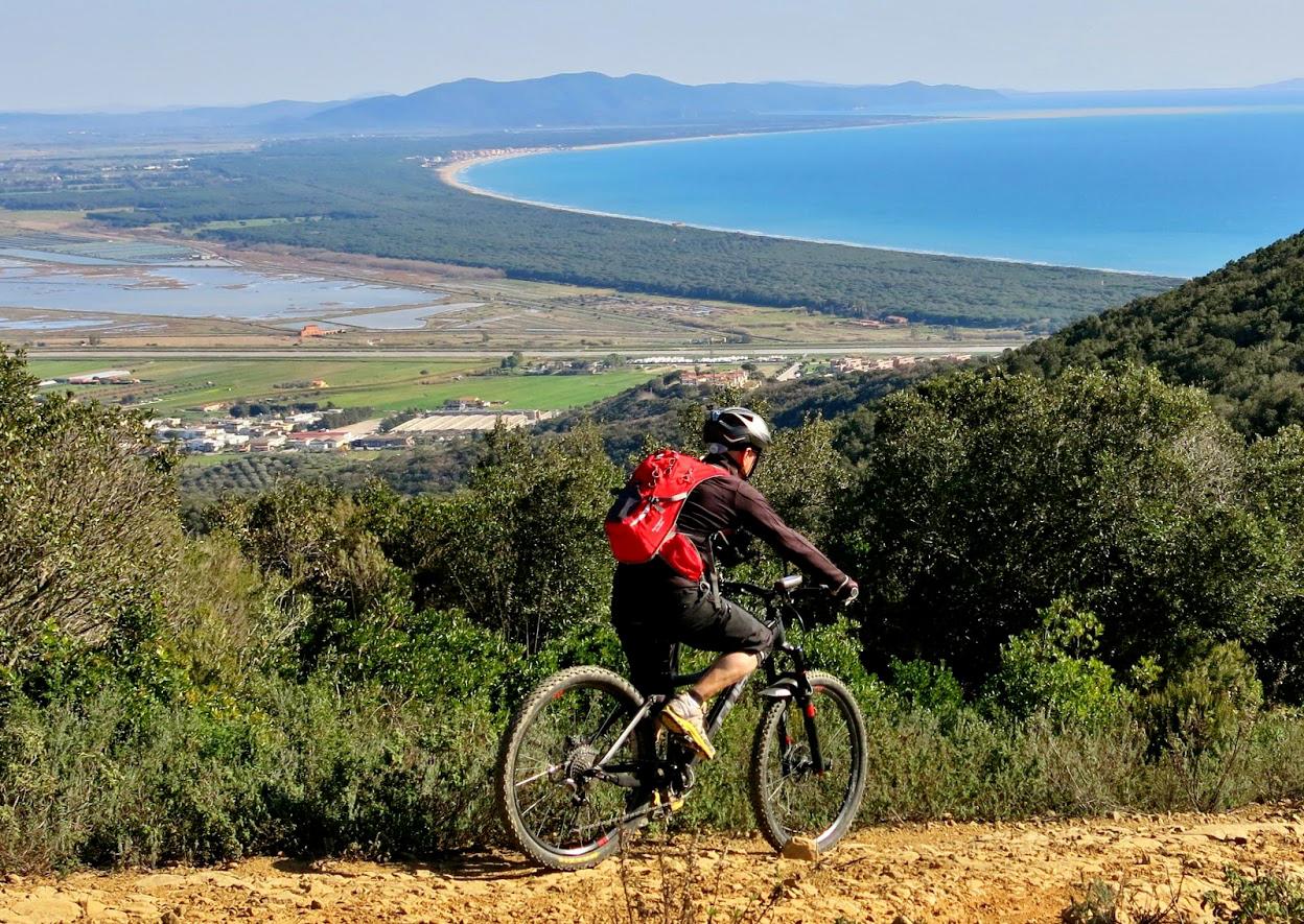Bike Camp in Maremma, Toscana