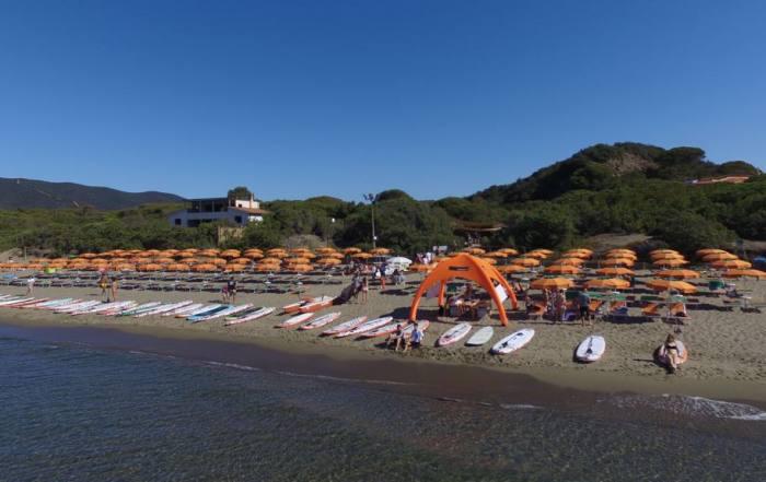 Spiaggia privata Camping Santapomata, Castiglione della Pescaia