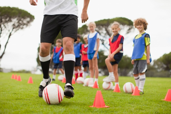 Campo scuola calcio a Castiglione della Pescaia, nella Maremma toscana