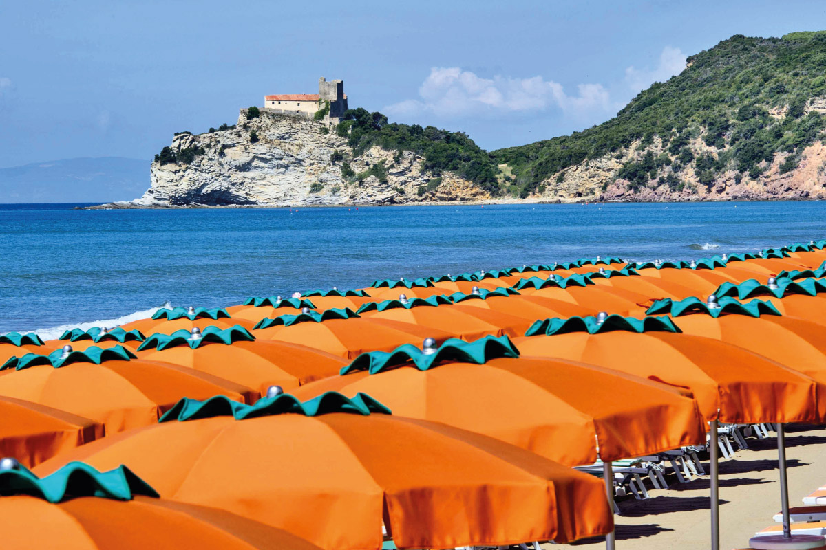 Spiaggia Le Rocchette, Castiglione della Pescaia - Camping Santapomata